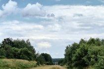 Zarośnięty tory Polski wschodniej