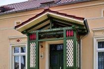 Zdobiena domu w Gandenitz