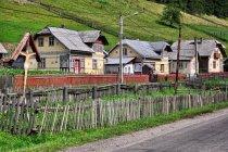 Zdobione domy w Ciocanesti