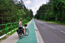Zielona droga rowerowa na Jurze