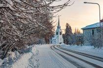 Zima w Kuusamo
