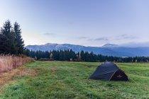 Zimny poranek w Tatrach