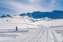 Zimowa kraina Alpe di Siusi