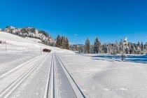 Zimowy krajobraz w Austrii