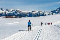 Zimowy urlop na biegówkach w Południowym Tyrolu