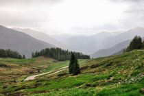 Zjazd z Passo Cinque Croci