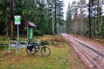 Źle ustawione stojaki rowerowe - MOR Green Velo