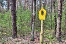 Znak niemieckich obszarów chronionych