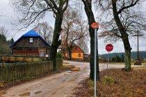 Znaki Green Velo w Czarnym Brodzie