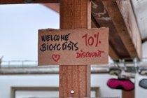Zniżka dla rowerzystów na Reykjavik Campsite