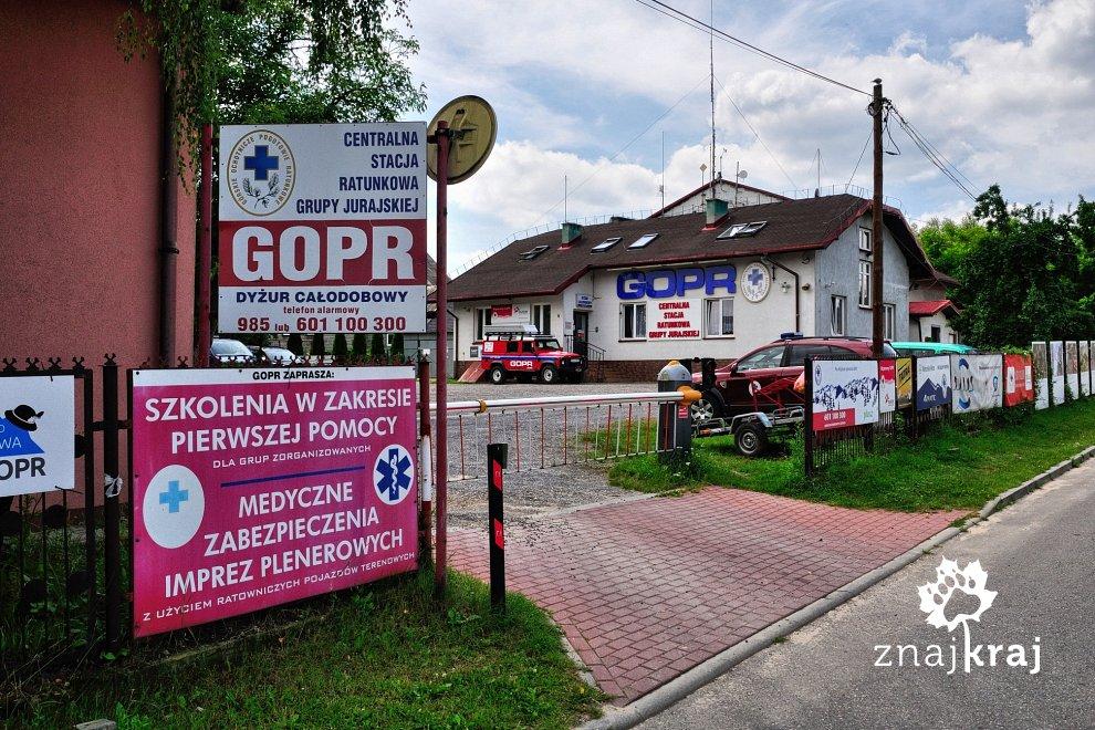 Baza GOPR w Podlesicach