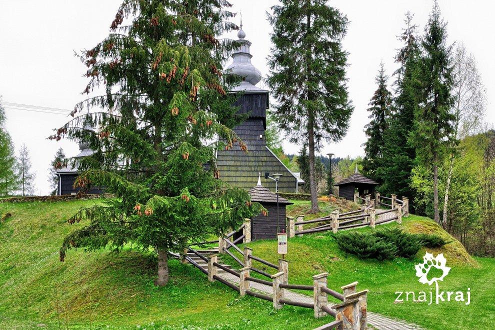 Cerkiew w Czarnej w Beskidzie Niskim