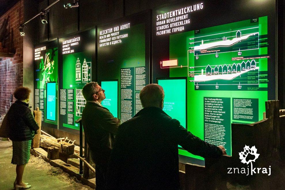 Ekspozycja w Europejskim Muzeum Hanzy