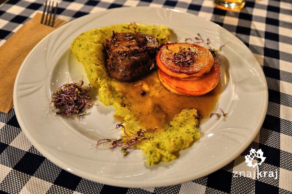 Filet z gęsi w sosie piwnym w Browarze Czenstochovia