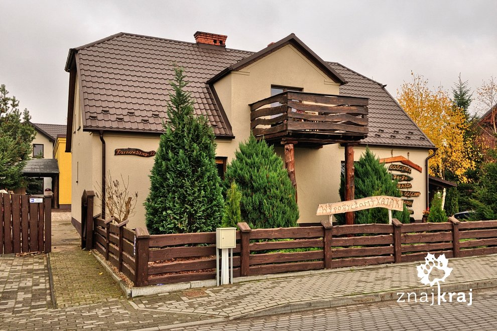 Gościnny pensjonat w Brusach