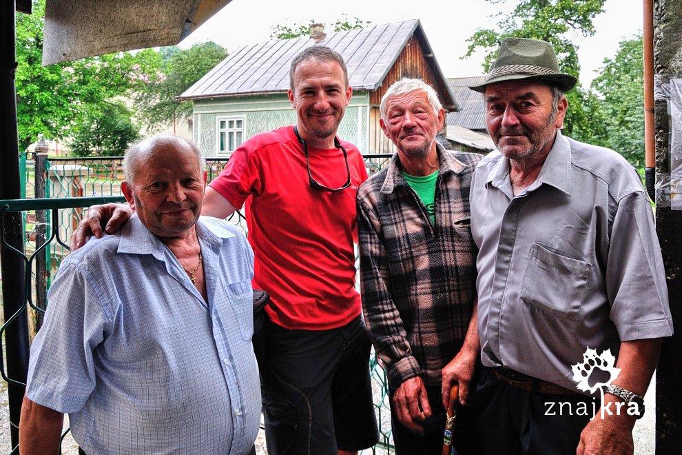 Jak z dobrymi wujkami - w Nowym Sołońcu