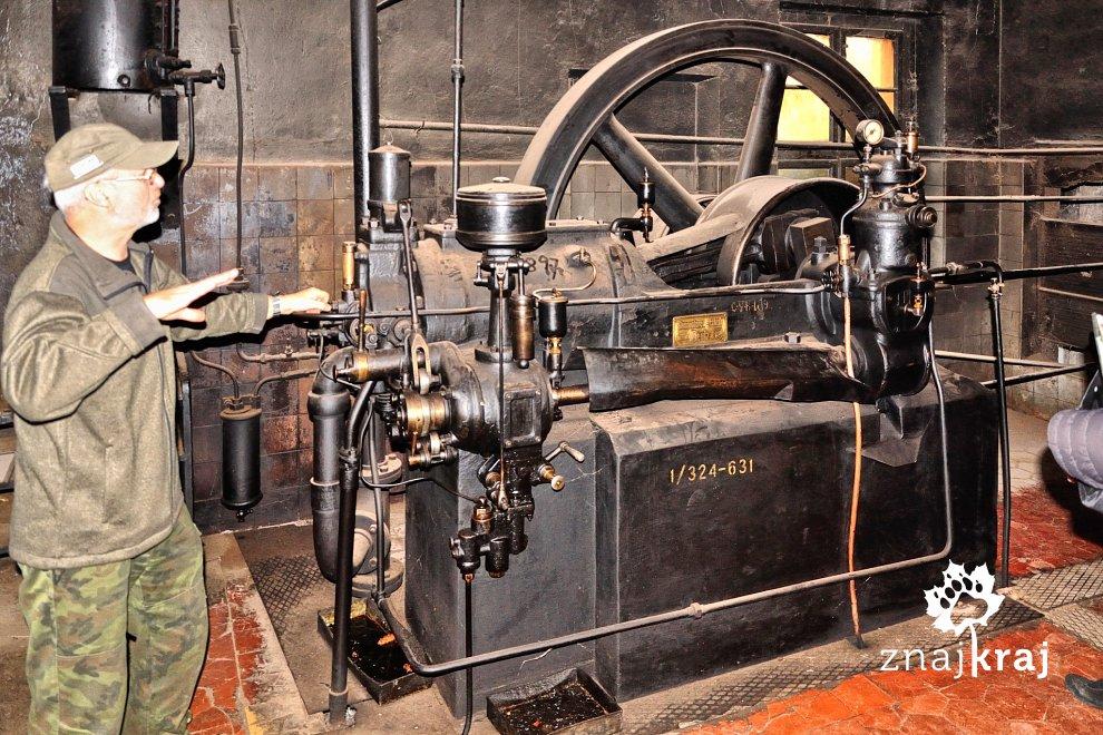 Jeden z pierwszych silników diesla na świecie