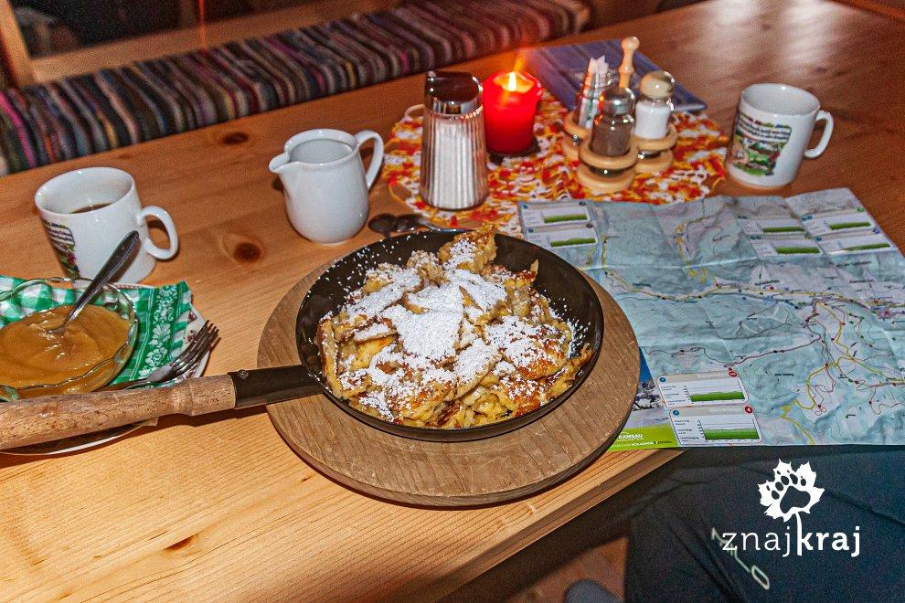 Kaiserschmarn - omlet cesarski