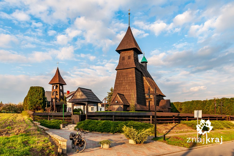 Kościół w Palowicach na Szlaku Architektury Drewnianej
