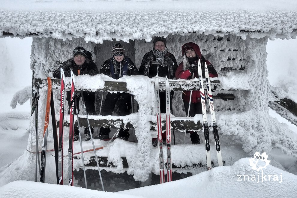 Neptunowa ekipa w Górach Izerskich