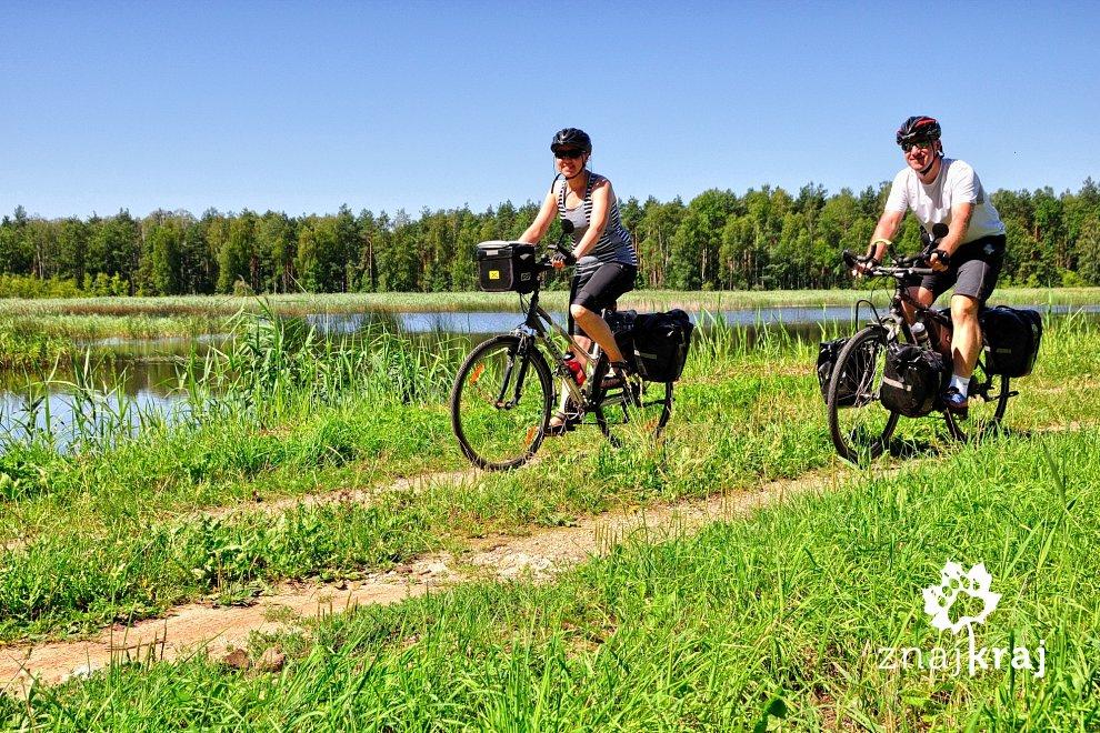 Na rowerach na Jurze