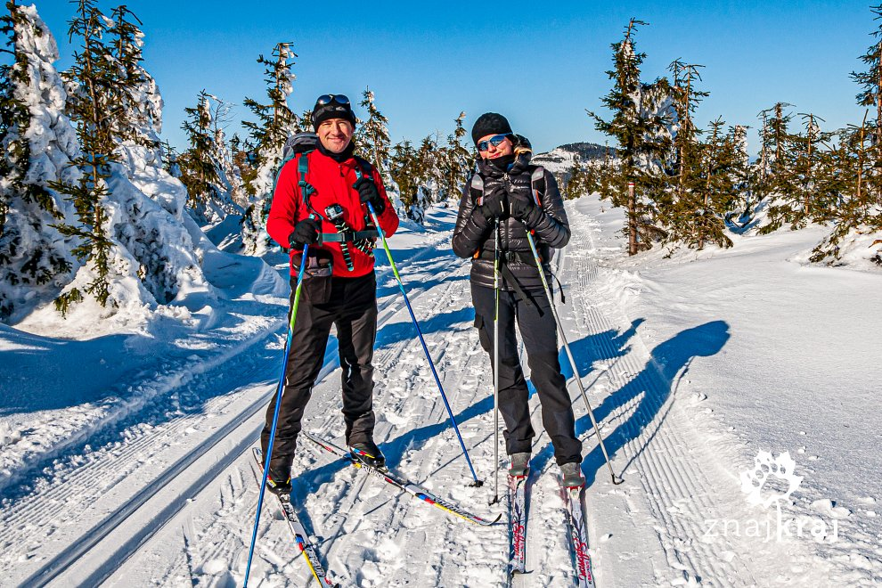 Na szlaku narciarstwa biegowego przez Góry Bialskie i Masyw Śnieżnika