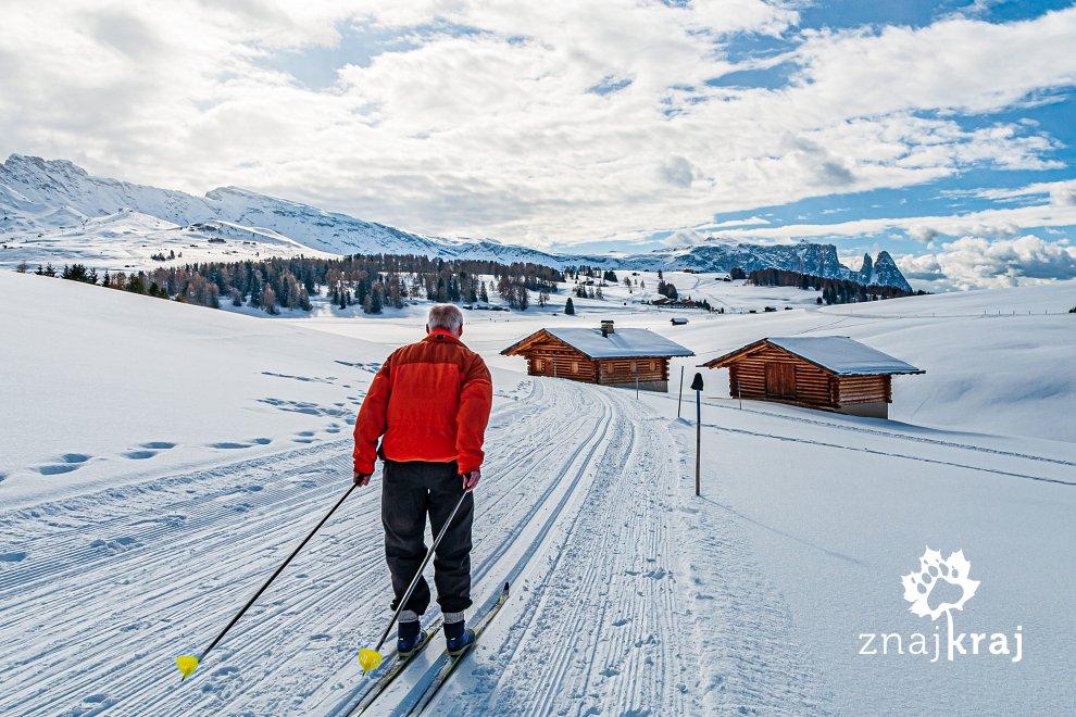 Po Dolomitach na biegówkach