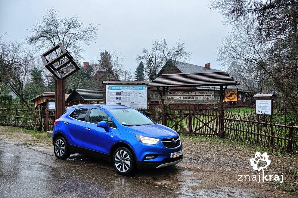 Opel mokka X na Suwalszczyźnie
