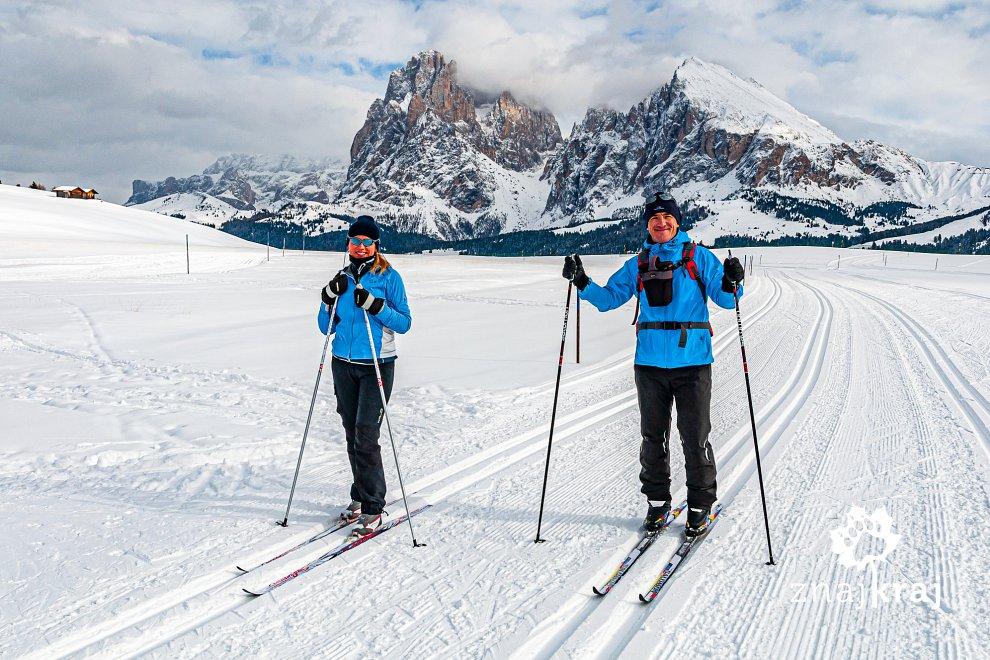 Na biegówkach po Południowym Tyrolu