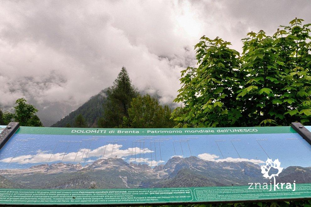 Zachmurzone Dolomiti di Brenta