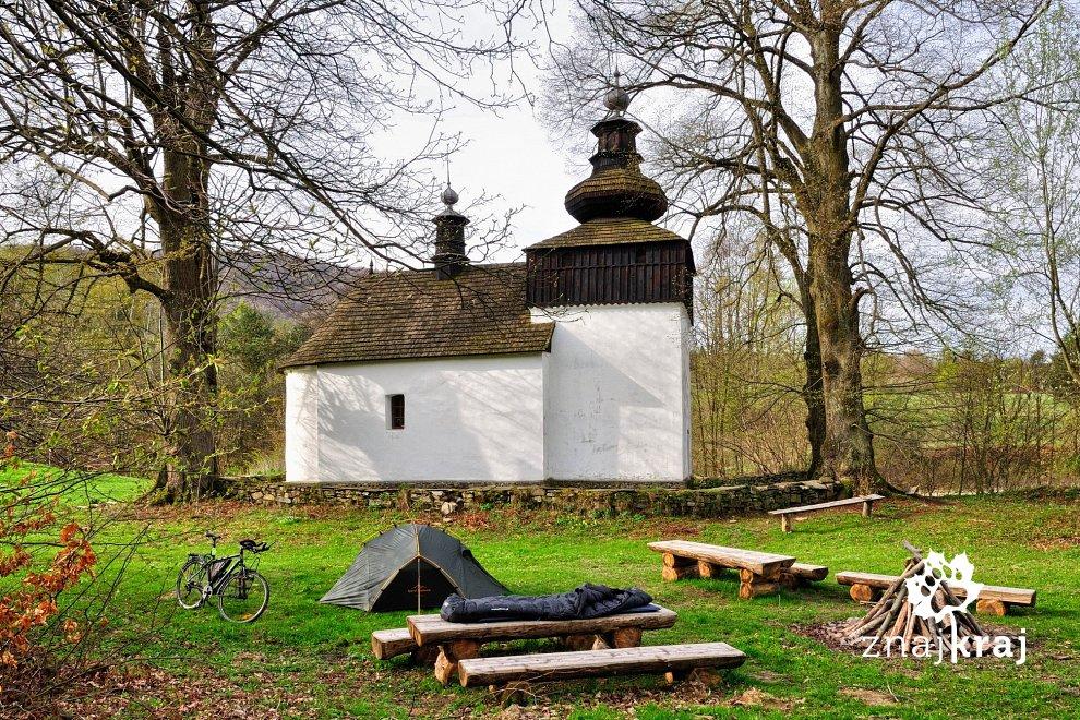 Cerkiew w Bielicznej w Beskidzie Niskim