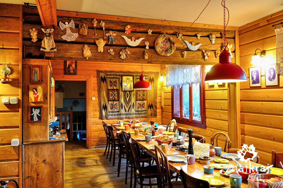 Jadalnia w Domu na Łąkach