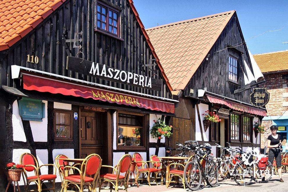Restauracja Maszoperia w Helu