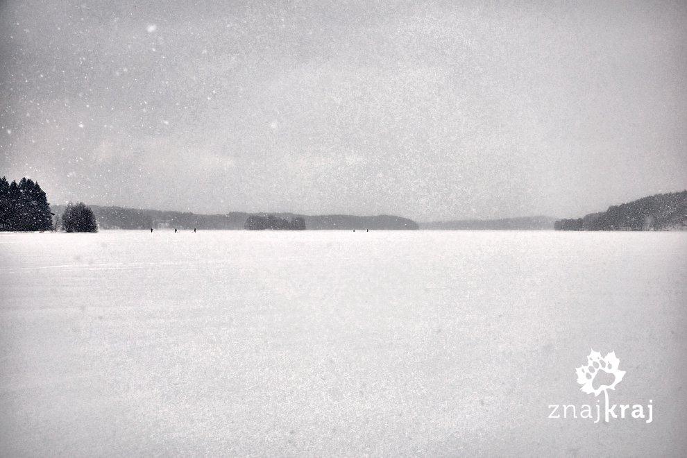 Śnieżyca na Kaszubach