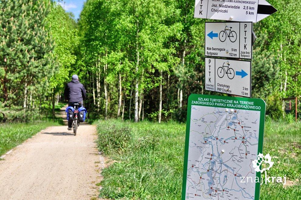 Tablice informacyjne i mapy szlaków