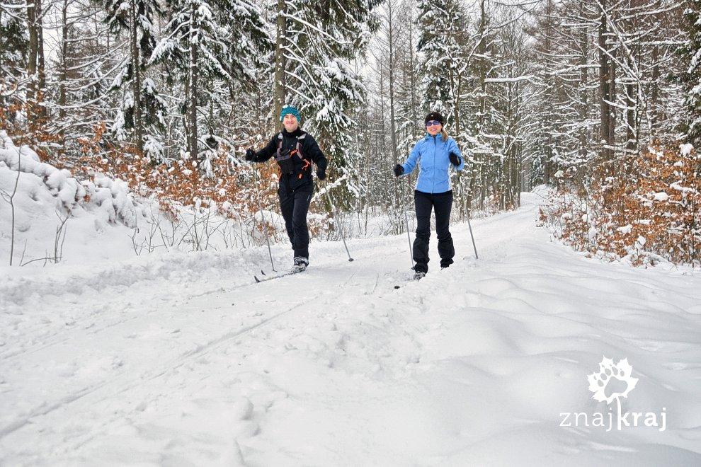 W Lesie Kartuskim na biegówkach