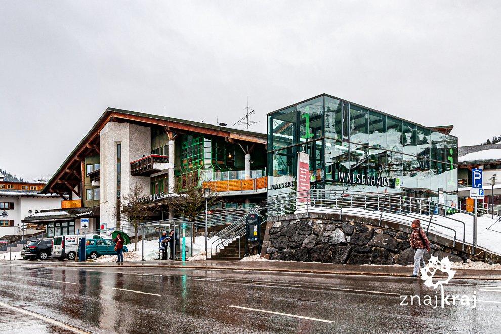 Walserhaus - siedziba samorządu i urzędów