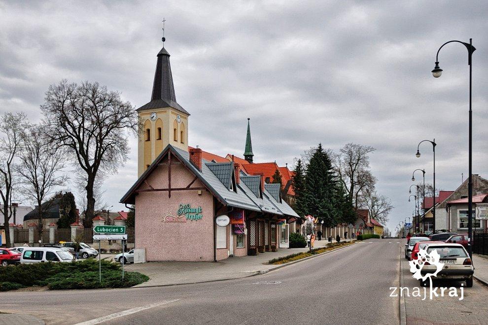 Zakład fryzjerski z dzwonnicą w Śliwicach