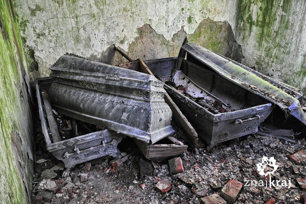 Grobowiec w Borkowie Lęborskim
