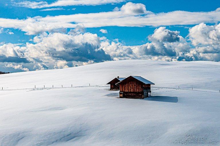 Biała kraina Alpe di Siusi