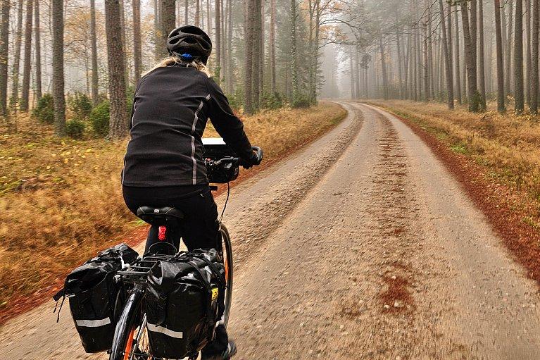 Rowerowa trasa w Borach Tucholskich