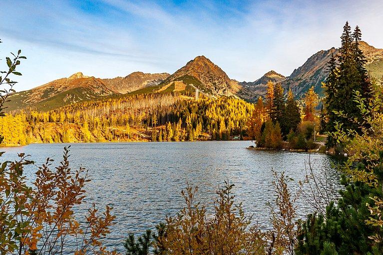 Szczyrbskie Jezioro - Strbske Pleso