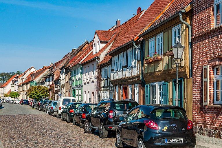 Zabytkowe domy z Wittstock