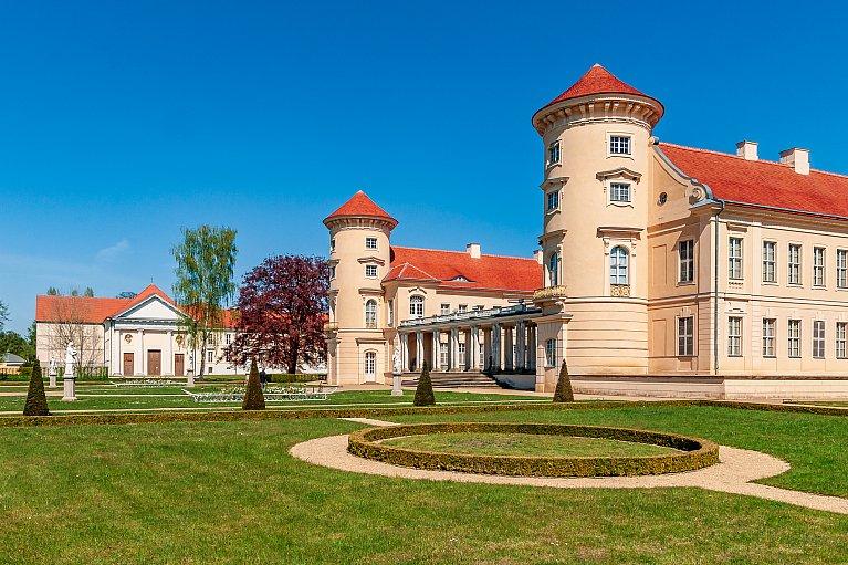 Zamek Rheinsberg - pierwowzór pałacu Sanssouci