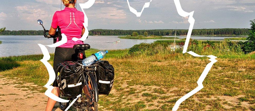 Nad Jeziorem Sulejowskim w Barkowicach