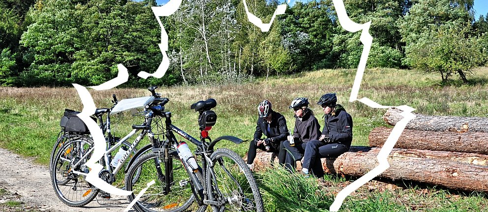 Rowerowy piknik na Kociewiu