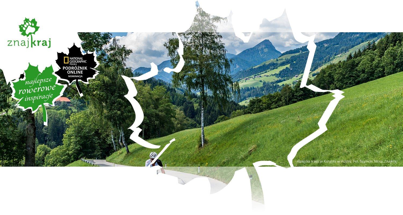 Alpejska trasa w Karyntii w Austrii