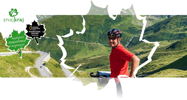 Alpejskie serpentyny w Szwajcarii