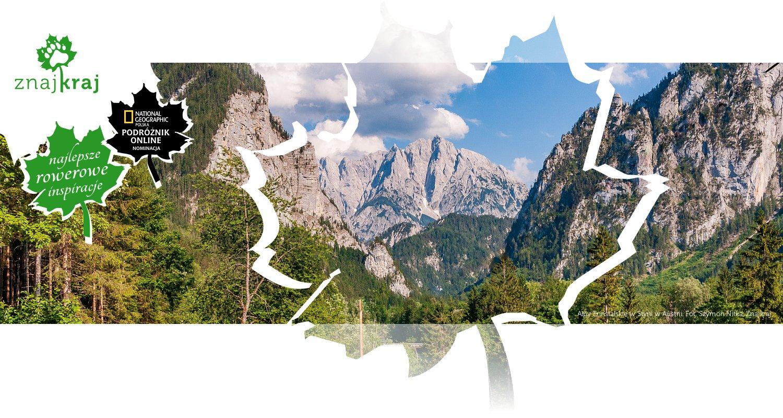 Alpy Ennstalskie w Styrii w Austrii