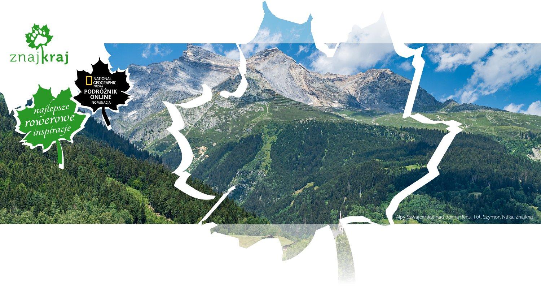 Alpy Szwajcarskie nad doliną Renu